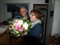 Wilfried Körber bedankt sich bei Renate Stroop für die geleistete Arbeit als Vorstandsvorsitzende
